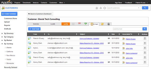 Customer CRM Email