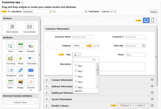 App Customization in V5