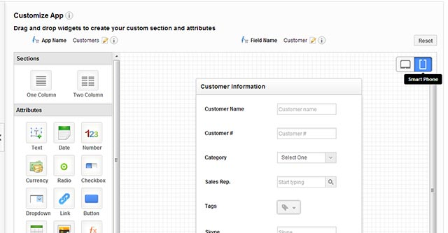 Mobile Interface Customization