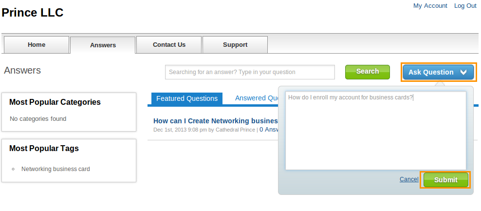 how to add password to sprouts invoices faq