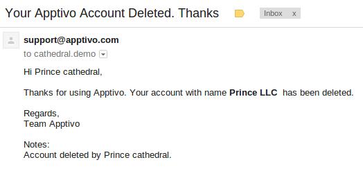 Linkedin Account Löschen delete my account apptivo faq