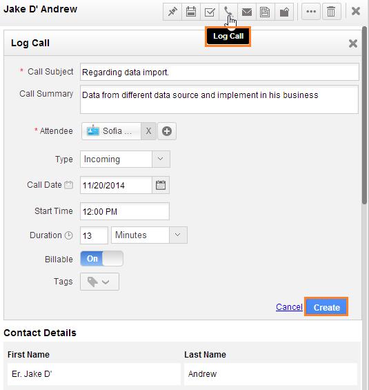 log call