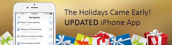 Mobile iPhone CRM Update