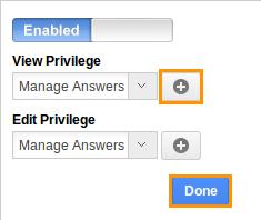 Customize Answer