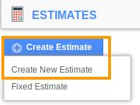 estimate create