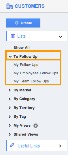 customer follow up