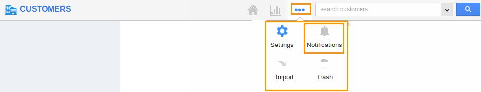 customers app notifications