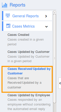 Cases Updated By Customer