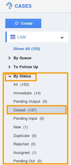 Closed Status