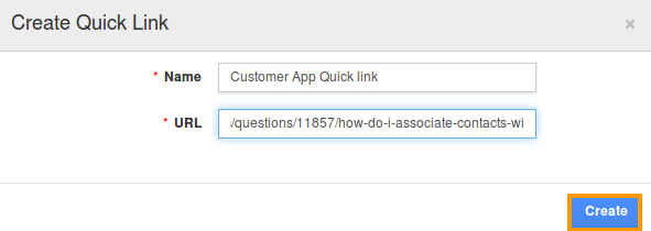 create-quick-link