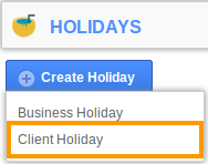 Client Holiday