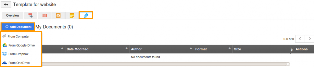 add documents