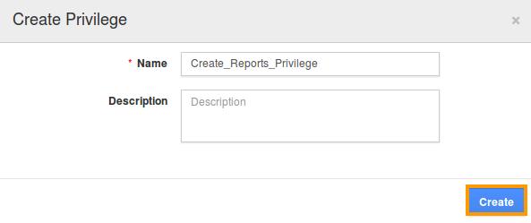Report privilege