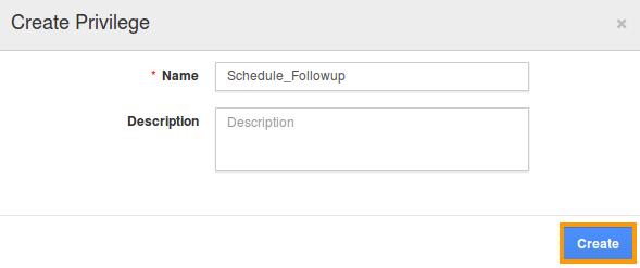 Schedule followup privilege