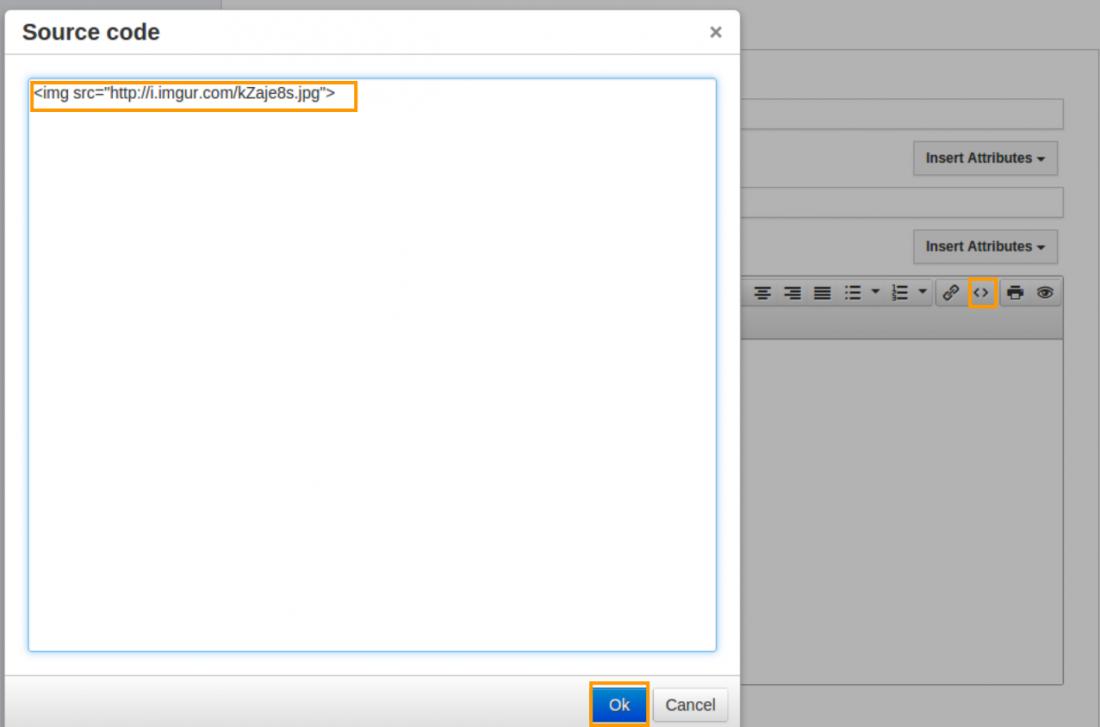 Source code option
