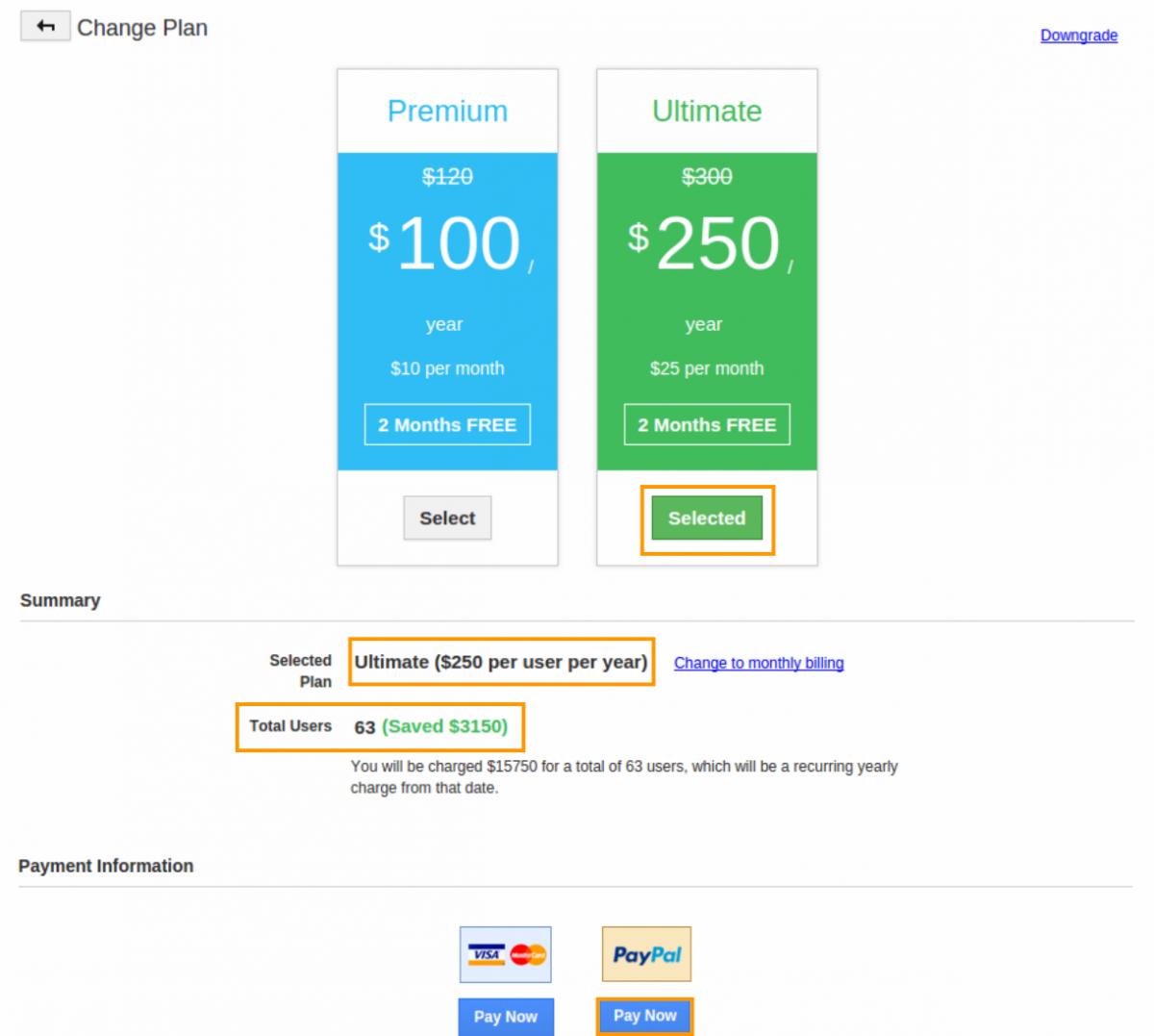 Info Paypal