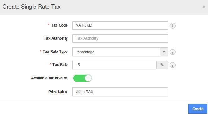 create single rate tax
