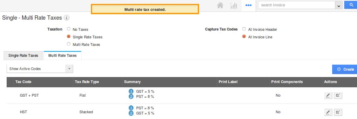 tax created