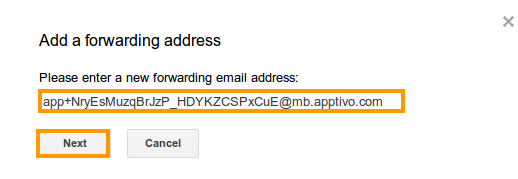 email-forwarding-address