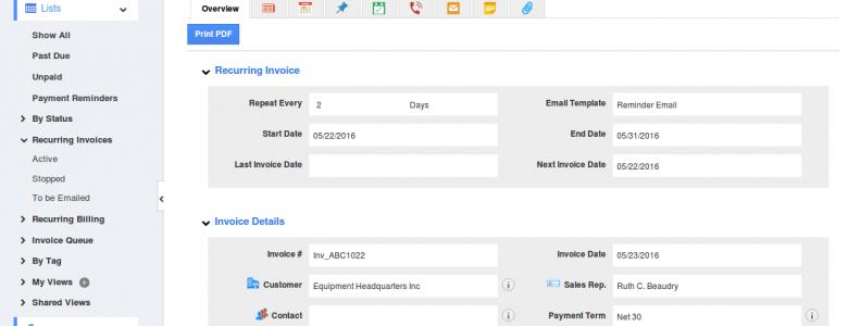 recurring-invoice