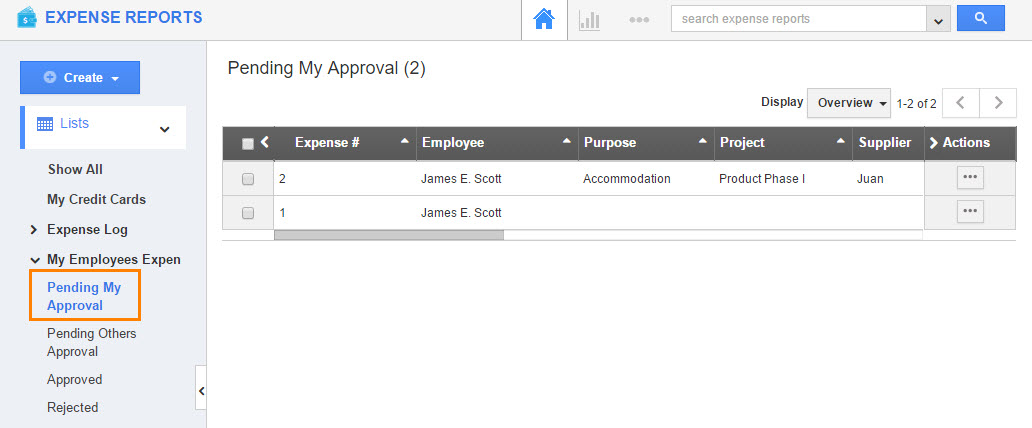 pending approval