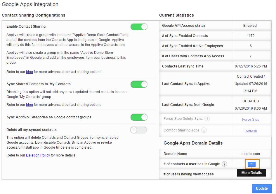 google domain details