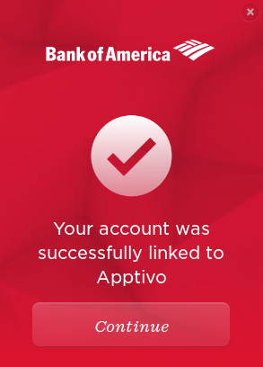 How do I connect Bank of America account information in