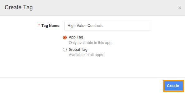create tags