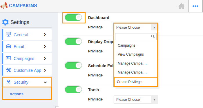 how to create a dashboard in access 2016