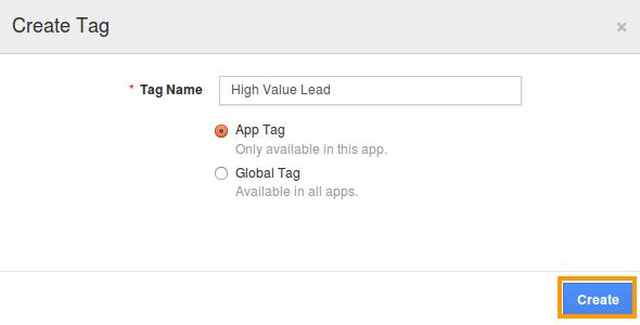 leads app tag