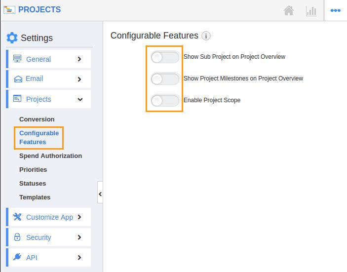 Configurable Features