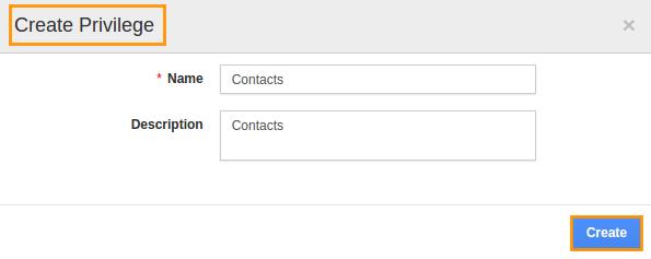 contact privilege