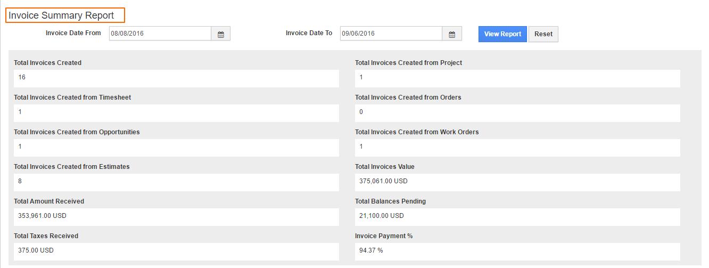 invoice-summary-report