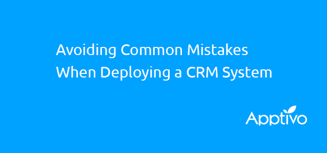 avoid deployment crm