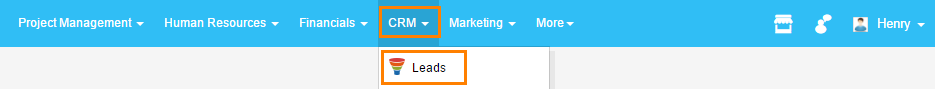 access leads for create a lead rank