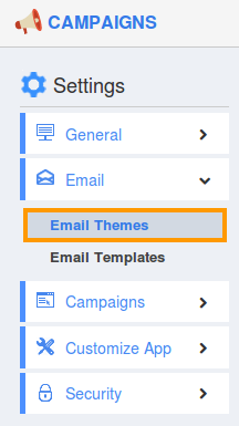 select email themes
