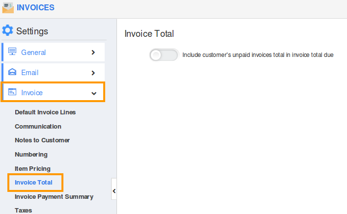 how do i add my customer u0026 39 s existing balance to the current invoice total