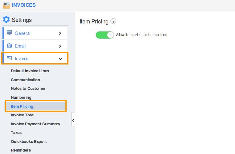 item-pricing