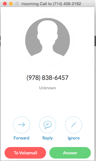 calling from ringcentral