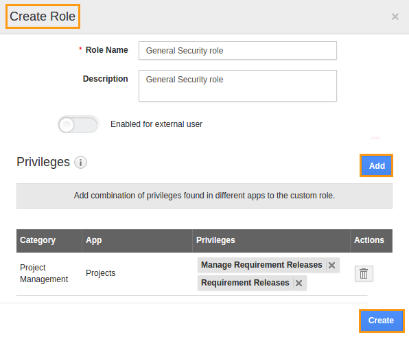 image result for custom privilege in employee
