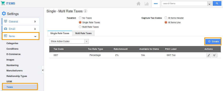 item-taxes
