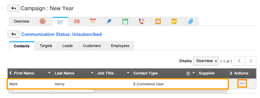 manage unsubscribed contacts