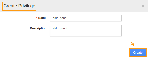image result for give access to users for side panel in Candidates
