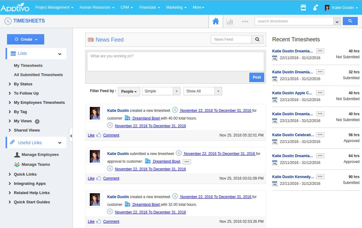 image result for timesheet dashboard