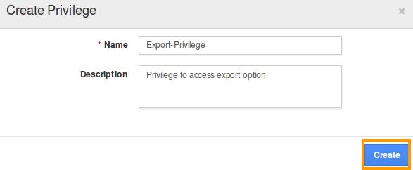 create-export-privilege