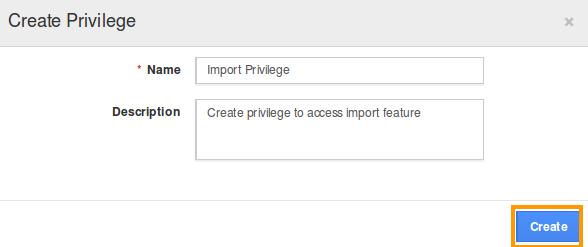 create-import-privilege