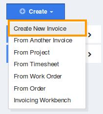 create-new-invoice