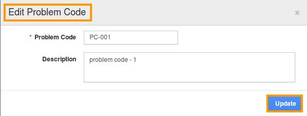 edit problem code