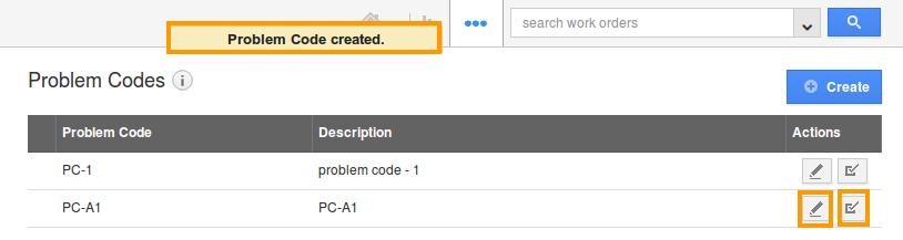 edit problem codes