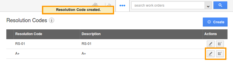 edit resolution code